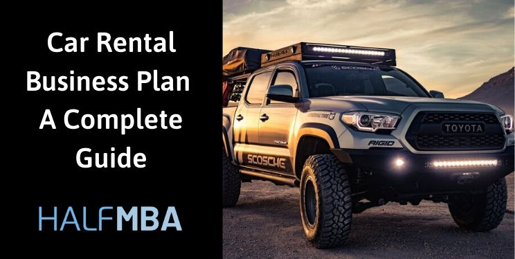 Car Rental Business Plan | A Complete Guide 8