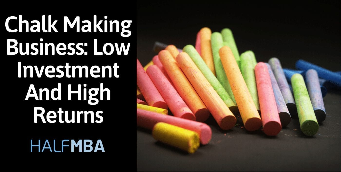 Chalk Making Business: Low Investment And High Returns 2