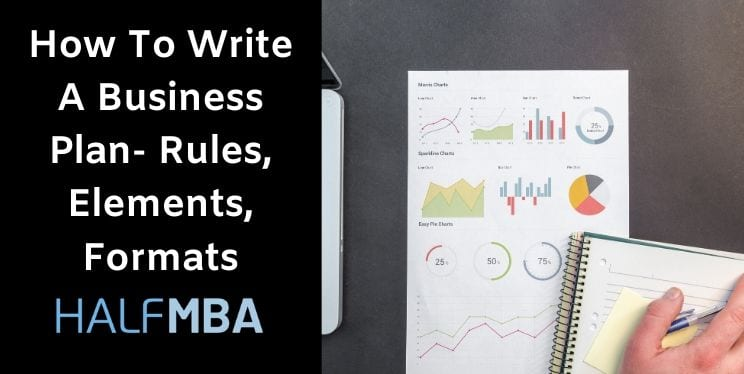 How To Write A Business Plan - Rules, Elements, Formats 1