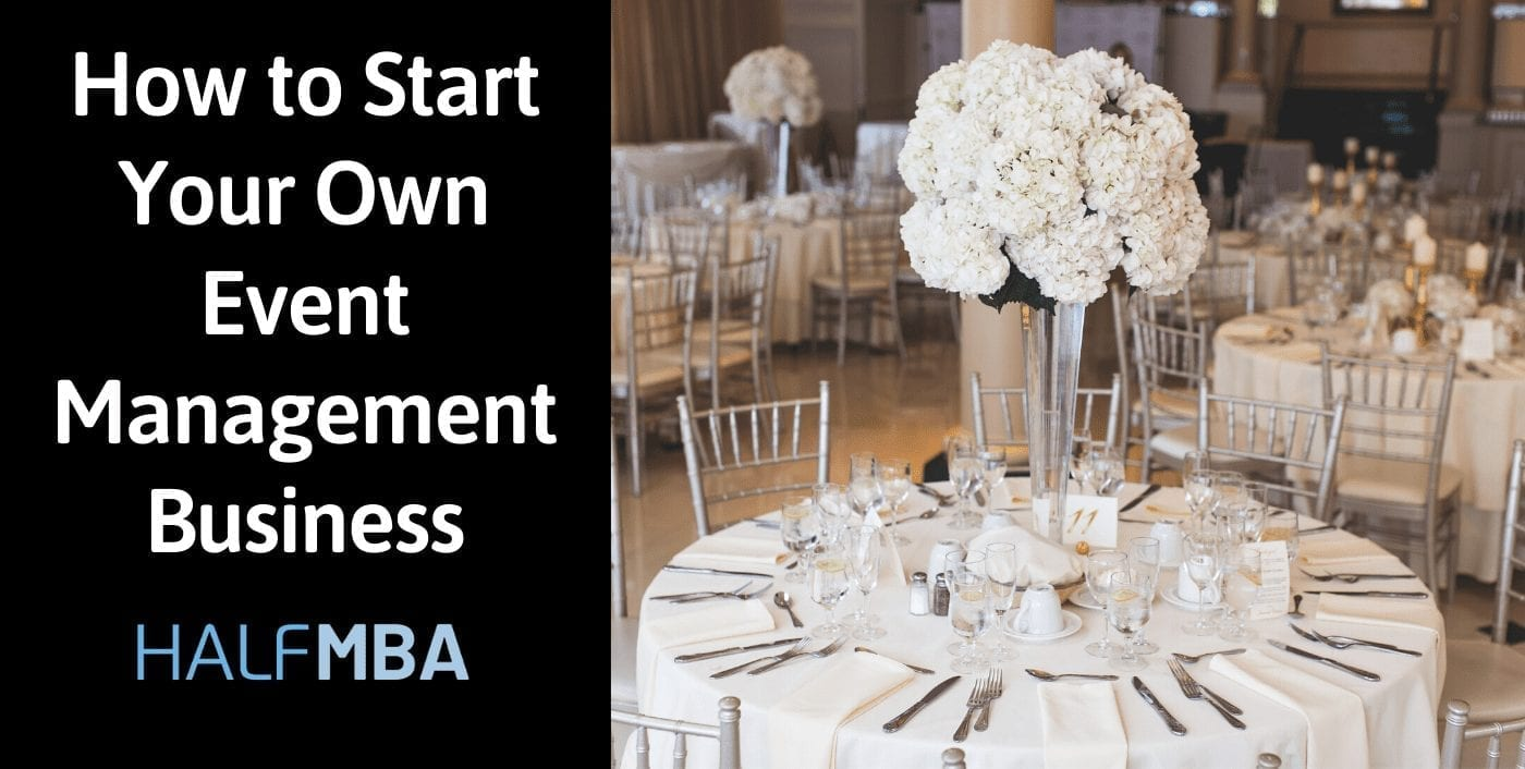 How to Start Your Own Event Management Business 2